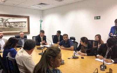Fábio Felix se reúne com secretário de Mobilidade e servidores da CLDF para debater Passe Livre