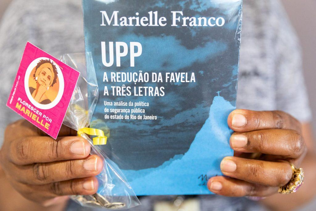 Lançamento da tese de mestrado de Marielle