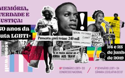 Orgulho LGBTI: CLDF e Câmara Federal realizam programação conjunta no mês de celebração dos 50 anos de Stonewall
