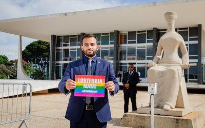 Distrital Fábio Felix pede que STF mantenha julgamento da criminalização da LGBTfobia