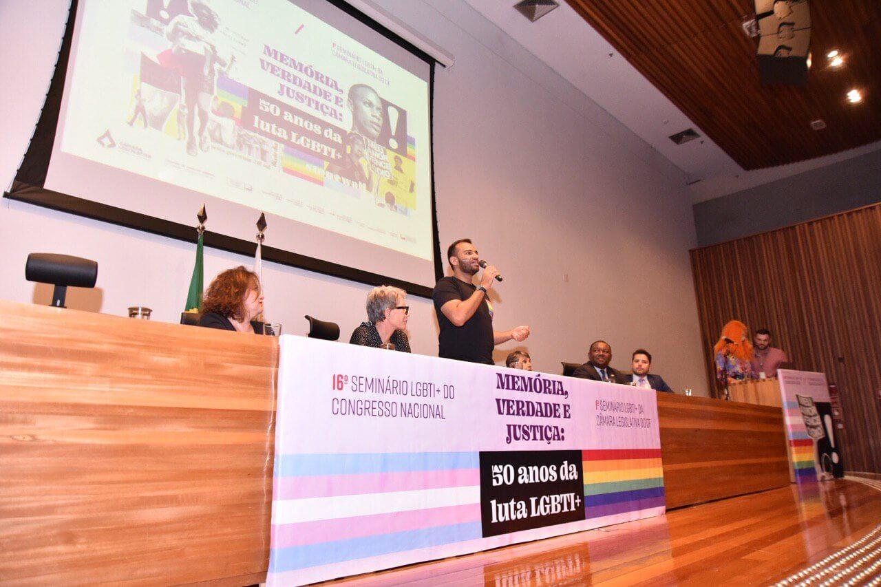 Câmara Legislativa comemora 50 anos de luta LGBTI+