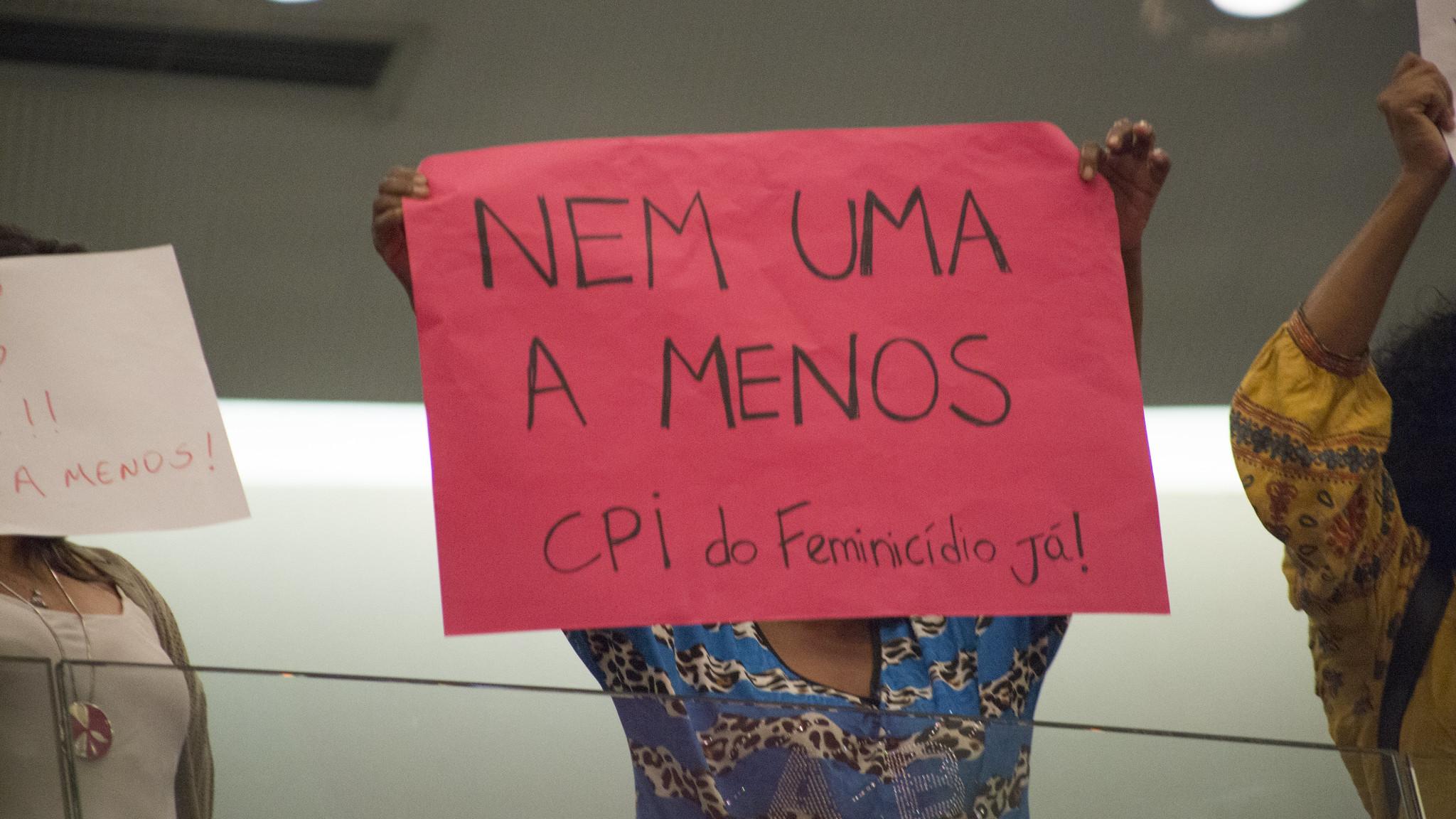 Vitória: CPI do Feminicídio criada na Câmara Legislativa