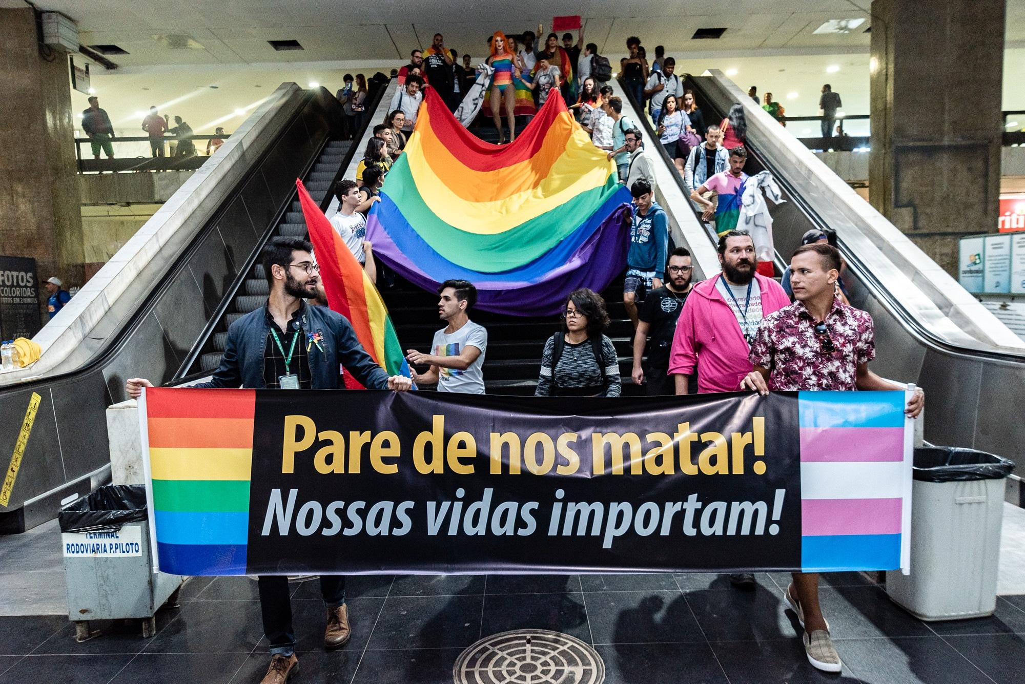 A LGBTfobia existe e não escolhe suas vítimas
