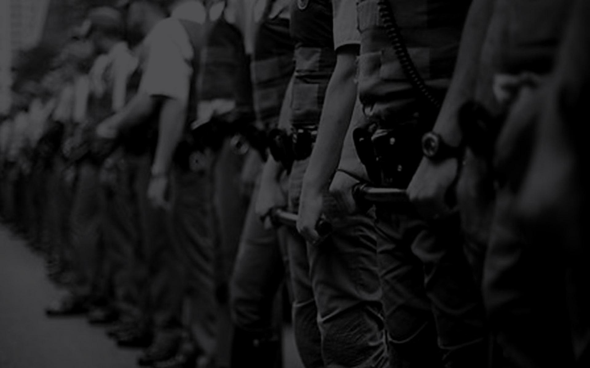 A segurança pública não pode ser violenta