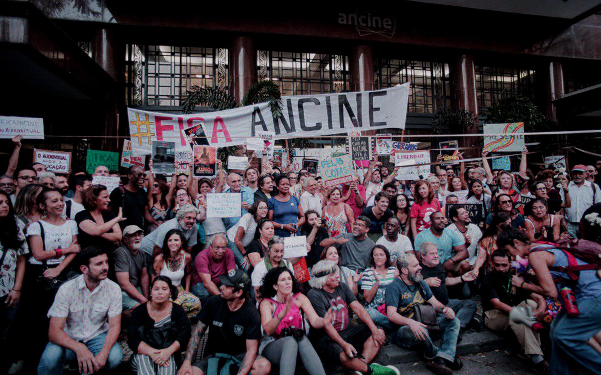 A Ancine e os ataques à cultura promovidos por Bolsonaro