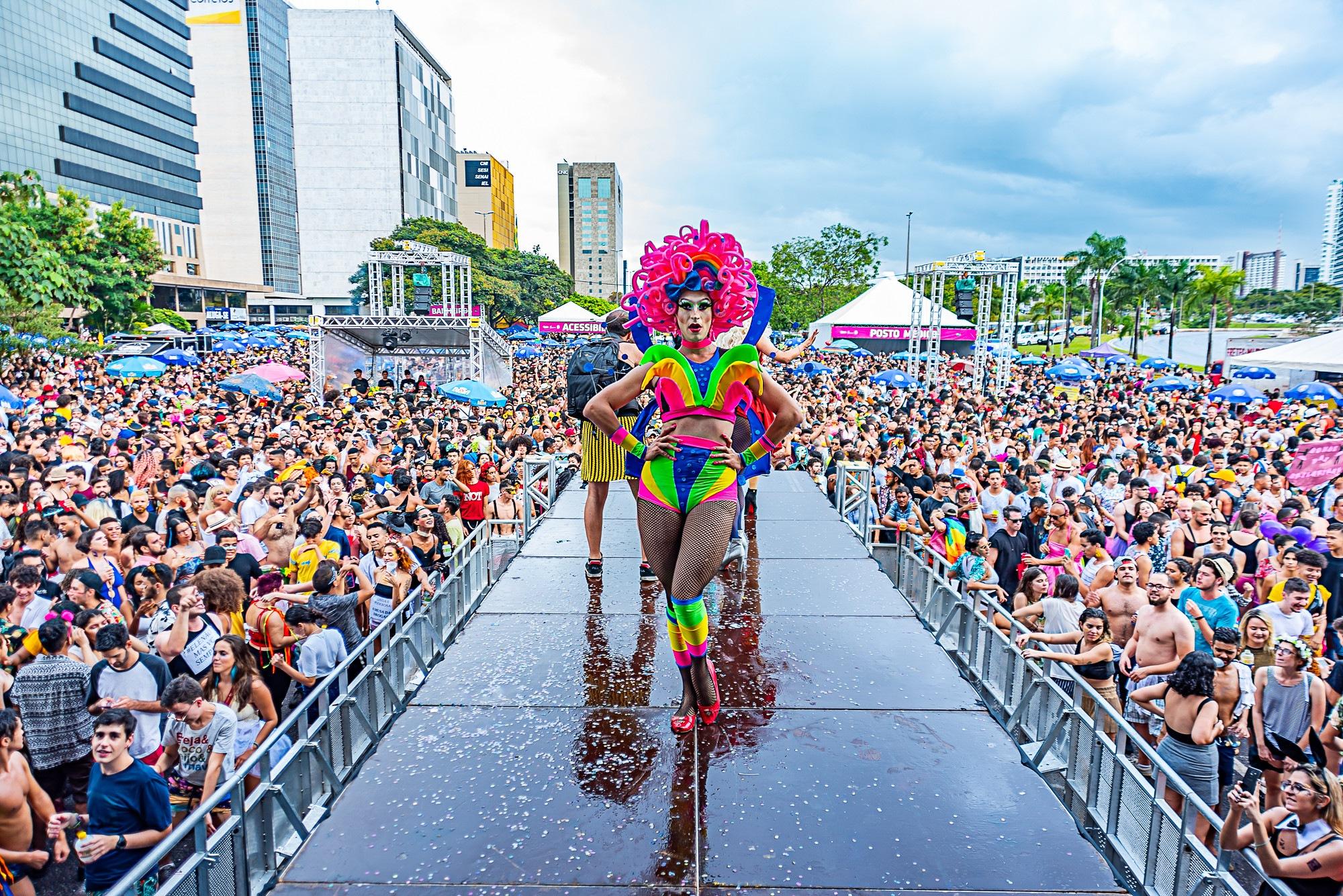 Carnaval de Todas as Cores leva respeito e diversidade ao carnaval do DF