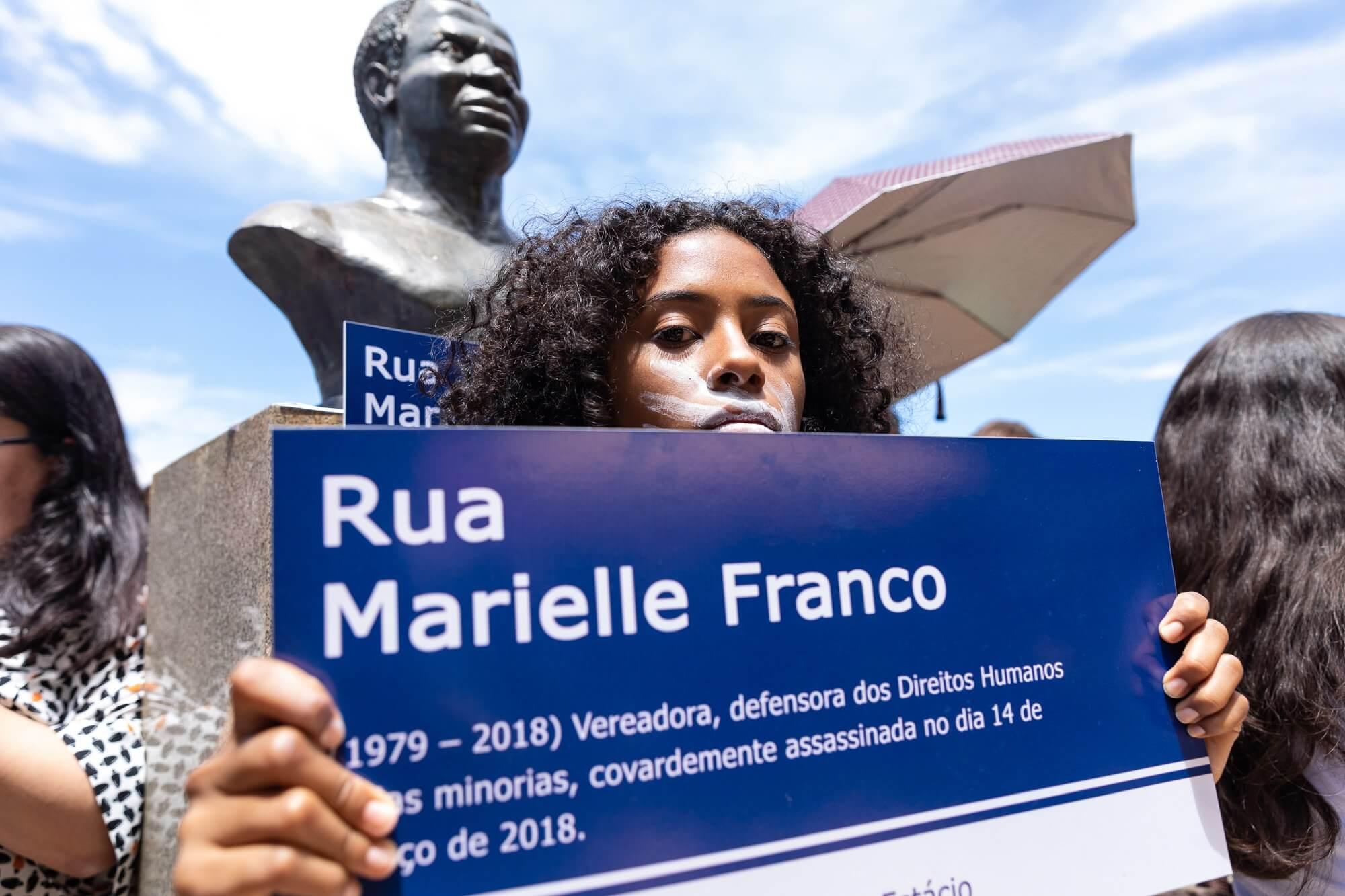2 anos sem respostas: justiça para Marielle já!