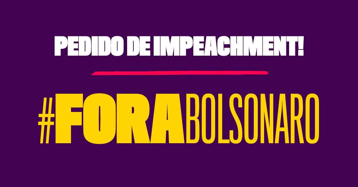 Intelectuais, artistas, políticos e ativistas se unem em pedido de impeachment de Bolsonaro