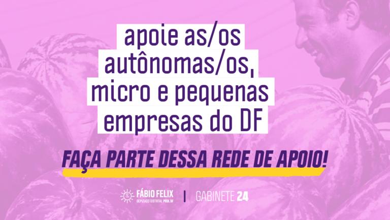 Solidariedade na crise: Apoie autônomas/os, micro e pequenas empresas do DF