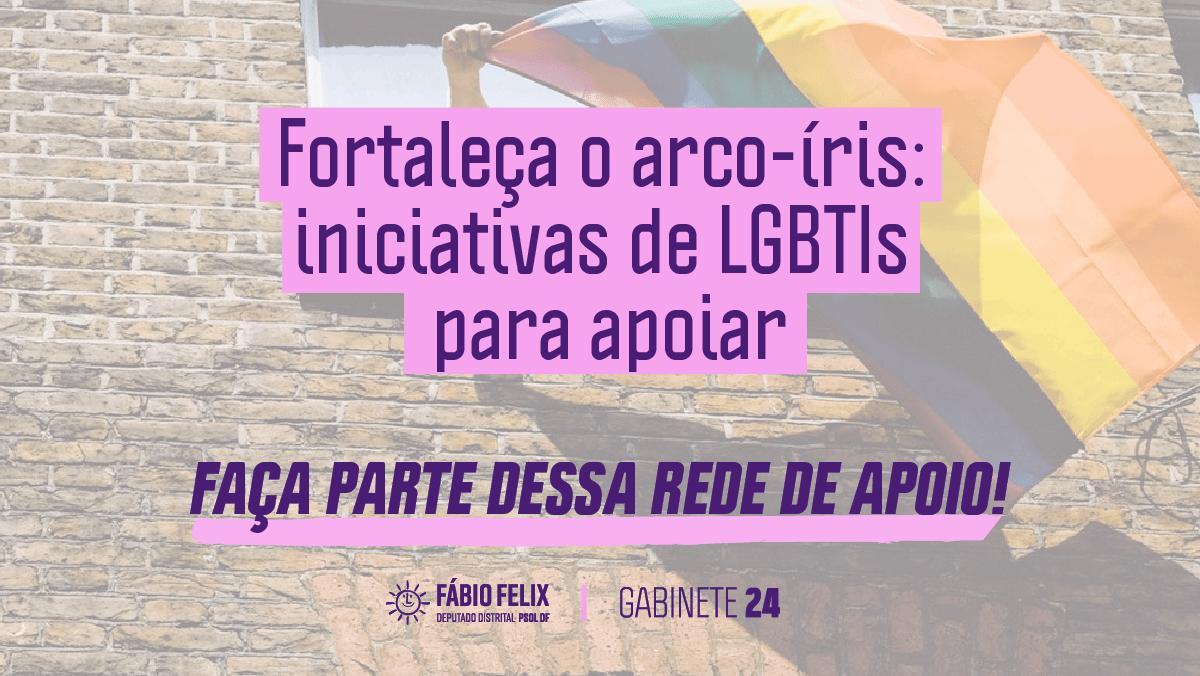 Solidariedade na crise: Apoie LGBTIs