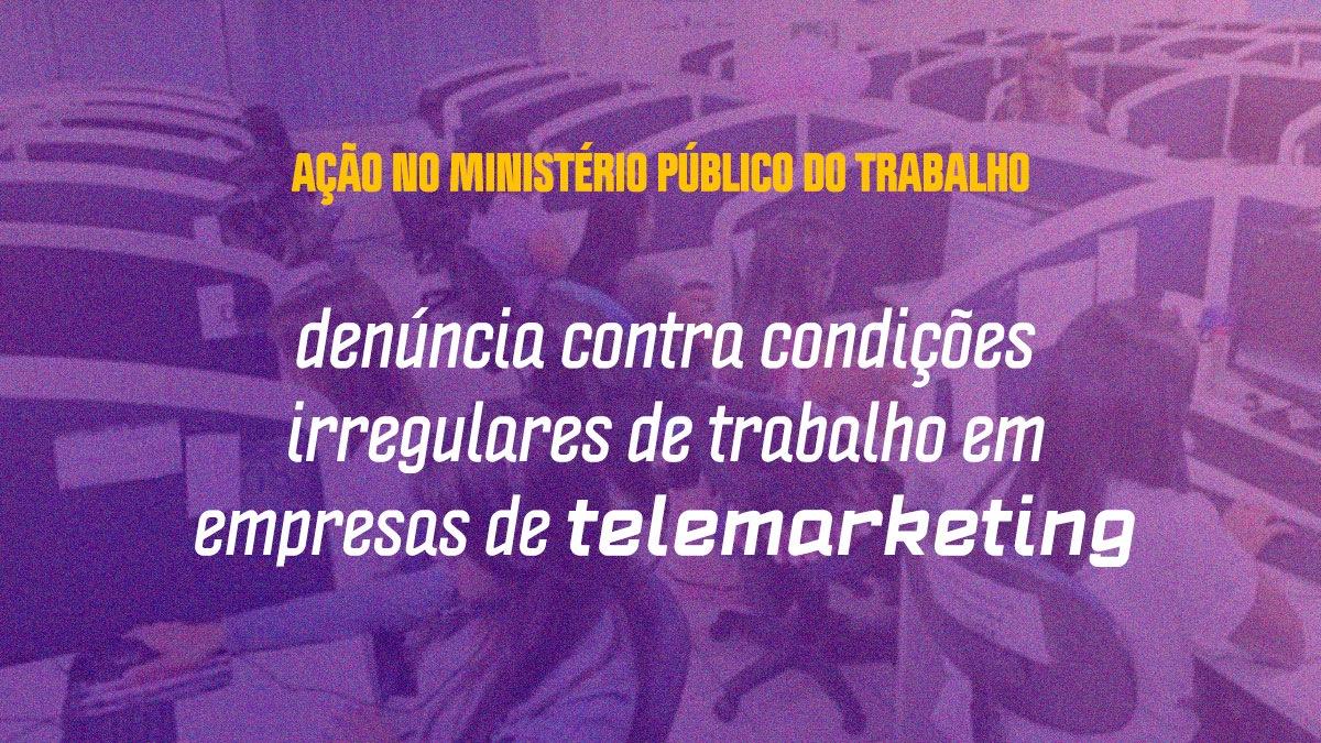 Fábio Felix aciona MPT contra empresas de telemarketing