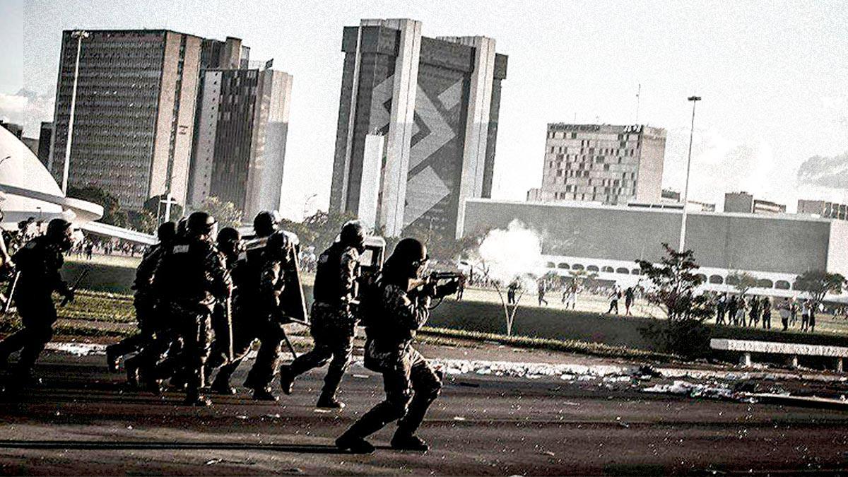 Denúncia: policiais instigam violência nas manifestações de domingo