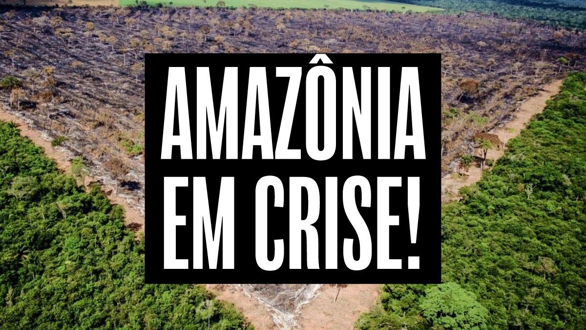 A Amazônia e os povos indígenas pedem socorro
