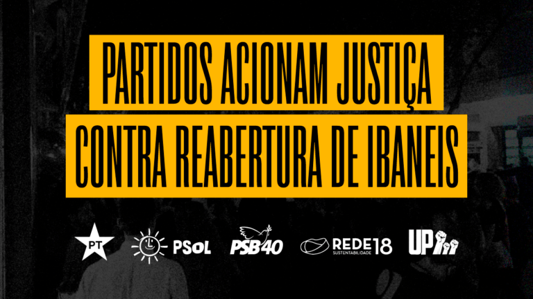 Partidos acionam Justiça contra reabertura de Ibaneis
