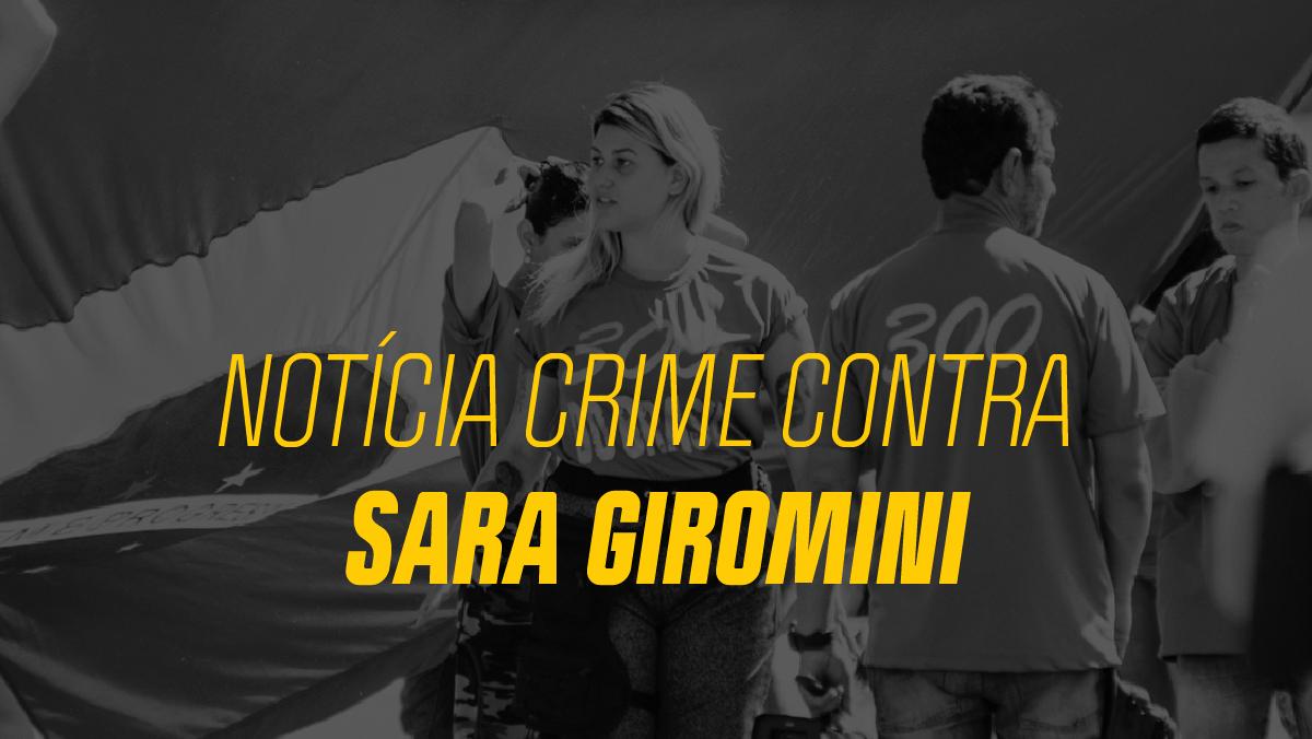 Distritais querem investigação de Sara Giromini por crimes contra criança vítima de estupro