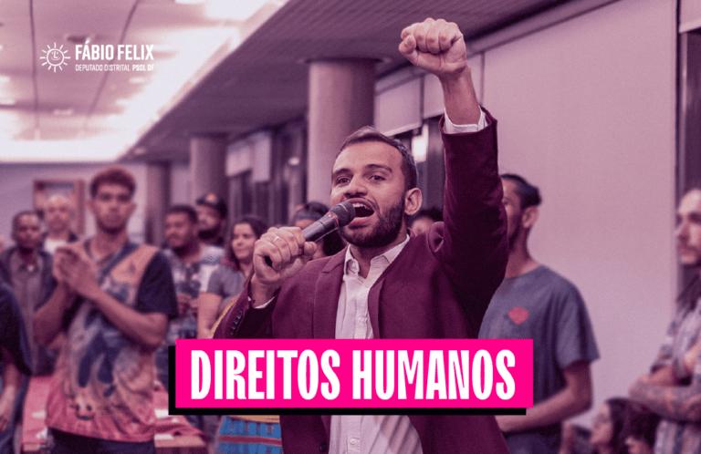 Fábio Felix terá mais dois anos a frente da Comissão de Direitos Humanos