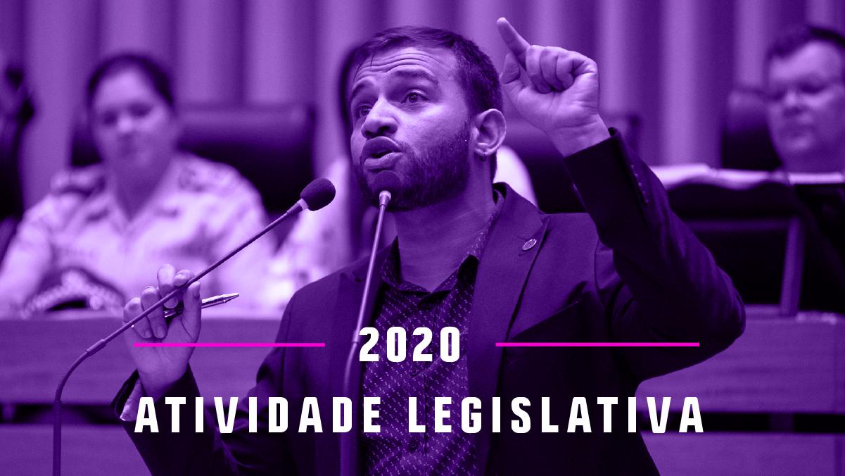 Balanço legislativo do Gabinete 24 em 2020