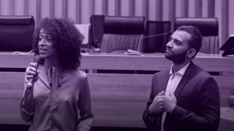 Érika Hilton e Fábio Felix denunciam Bolsonaro por LGBTfobia