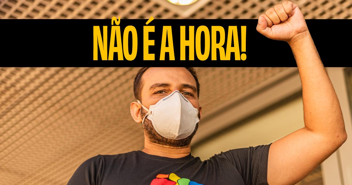 Fábio Felix protocola decreto contra aumento de público em jogos de futebol
